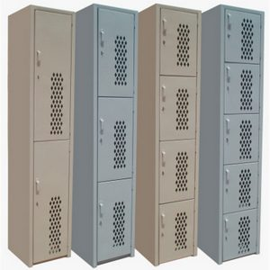 Locker especial puerta diamante
